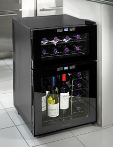 Wine Enthusiast Silent 24 Bottle Dual Zone Touchscreen Wine Cooler