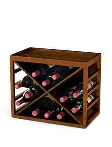 Wine Enthusiast 12 Bottle X Cube-Stack Wine Rack