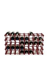 Wine Enthusiast Mahogany Modular 40 Bottle Wine Rack