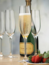 Wine Enthusiast 4-pc. Fusion Classic Champagne Flutes