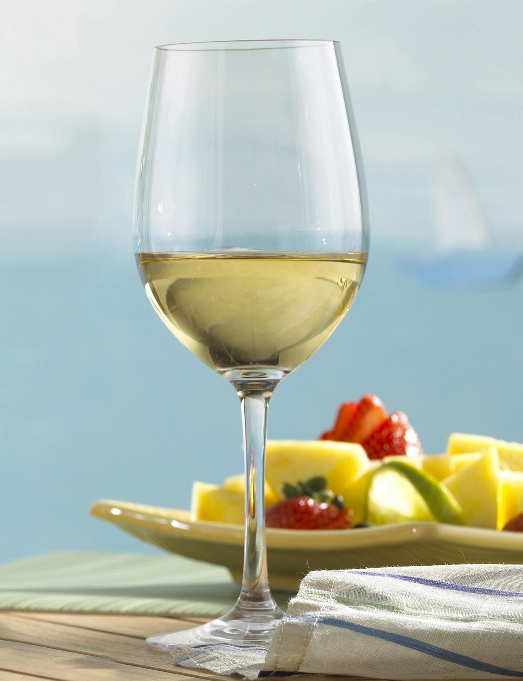 Wine Enthusiast Silver Wine Glasses Drinkware