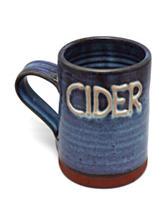Wine Enthusiast One Pint Blue Cider Tankard (Blue)