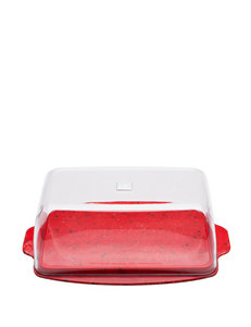 Zak Designs Red Serving Platters & Trays Dinnerware