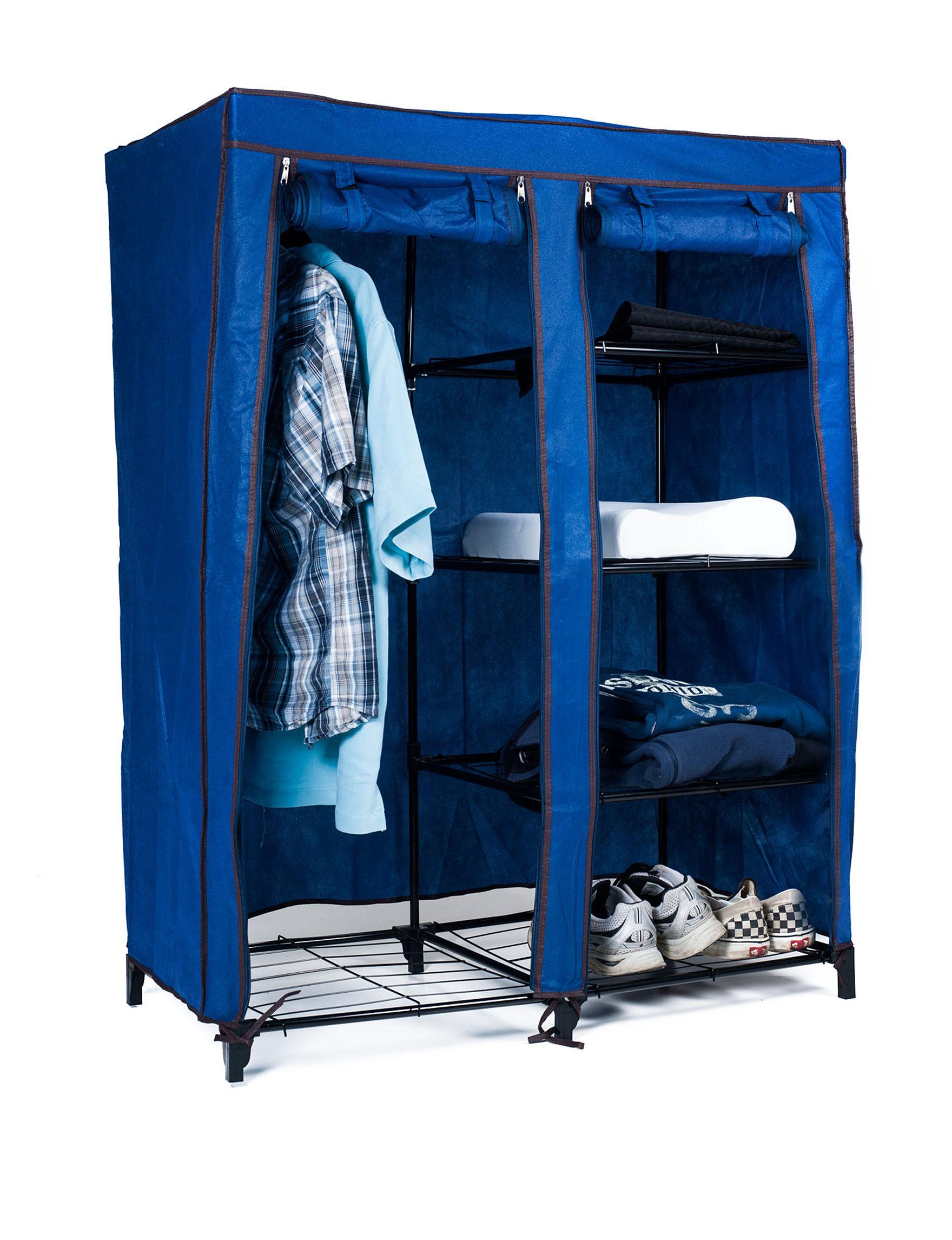 Lavish Home Royal Blue Storage & Organization
