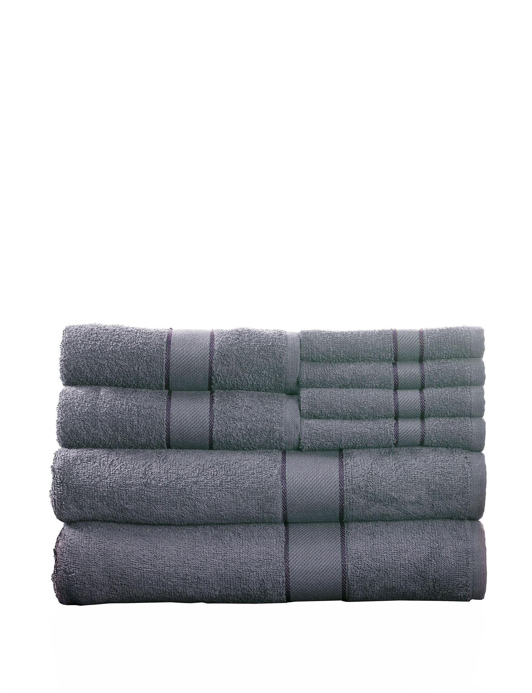 Lavish Home Silver Bath Towels Towel Sets Towels