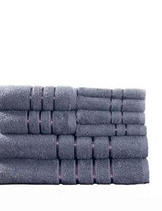 Lavish Home 8-pc. Cotton Plush Bath Towel Set