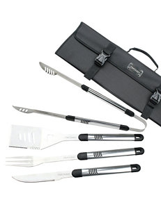 Top Chef 5-pc. Stainless Steel BBQ Set