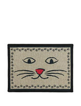 P.B. Paws Kitty Whiskers Tapestry Pet Mat