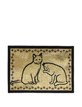 P.B. Paws Kitty Pals Tapestry Pet Mat