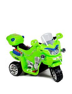 Lil' Rider FX 3-Wheel Battery Powered Ride-On Bike – Neon Green