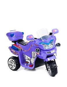 Lil' Rider FX 3-Wheel Battery Powered Ride-On Bike – Purple