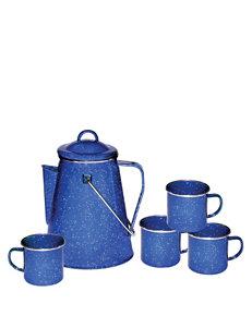 Stansport® 5-pc. Coffee Pot & Mugs Set