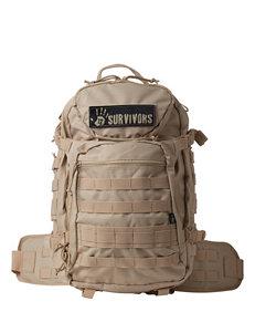 12 Survivors Tan Tactical Backpack