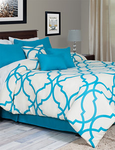 Everyday Home Oversized Trellis Comforter Set Collection