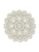 Heritage Lace Round Table Topper