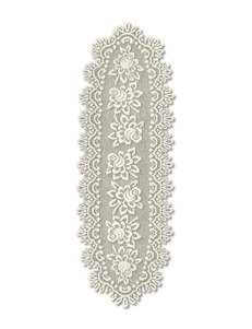 Heritage Lace Rose Oval Runner