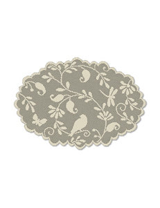 Heritage Lace Brown Placemats Table Linens