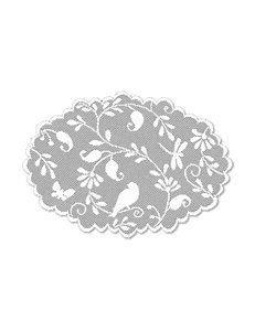 Heritage Lace White Placemats Table Linens
