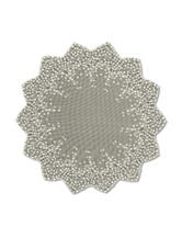 Heritage Lace Blossom Round Topper