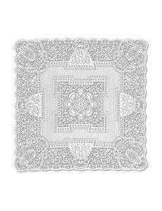Heritage Lace White Table Cloths Table Linens
