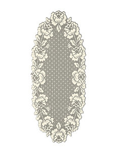 Heritage Lace Cottage Rose Table Runner