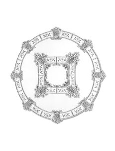 Heritage Lace Heirloom Round Tablecloth