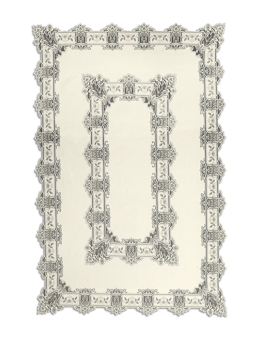 Heritage Lace Ecru Tablecloths Table Linens