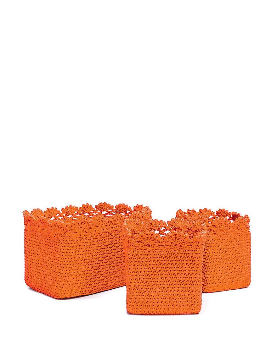 Heritage Lace Orange Storage Bags & Boxes Storage & Organization