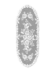 Heritage Lace Victorian Rose Table Runner