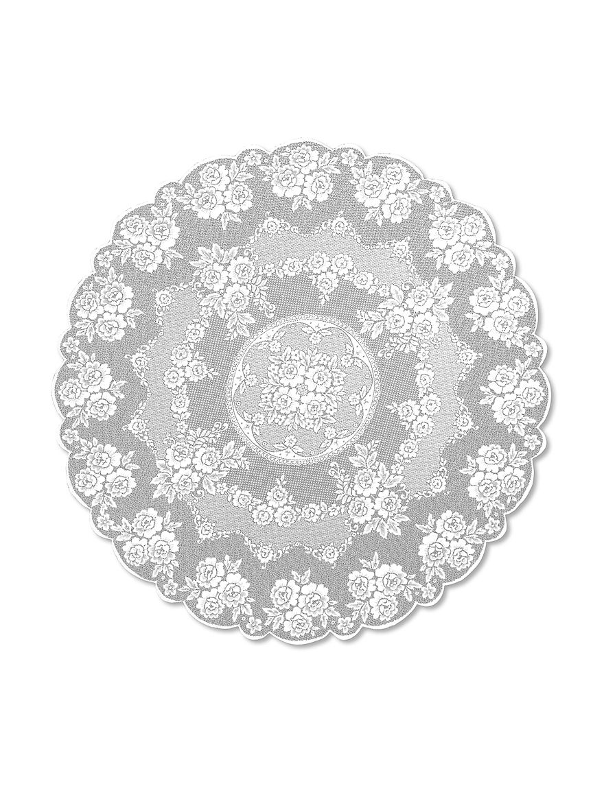 Heritage Lace White Tablecloths Table Linens