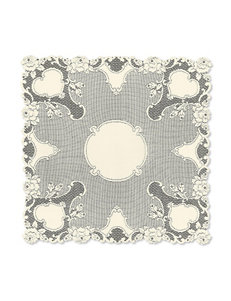 Heritage Lace Square Vintage Table Topper