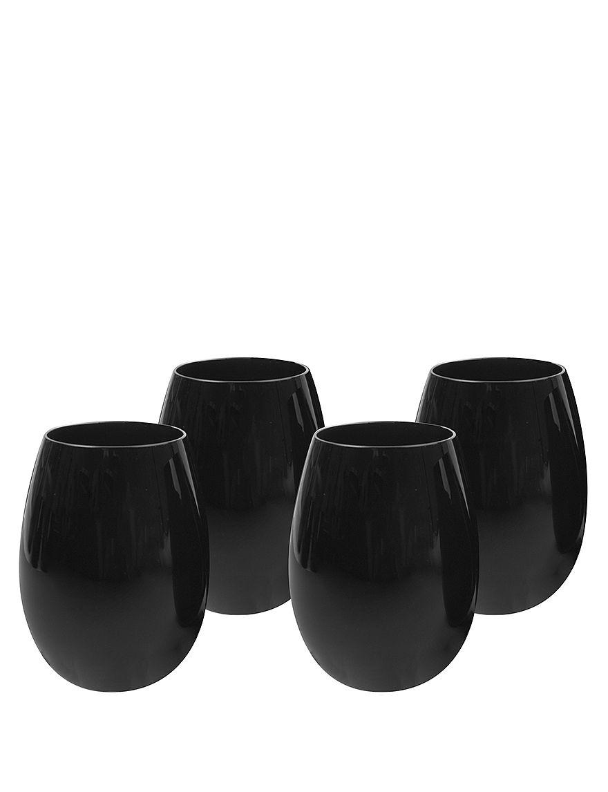 Artland Black Drinkware Sets Drinkware