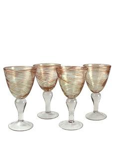 Artland 4-pk. Shimmer Goblet Glass Set
