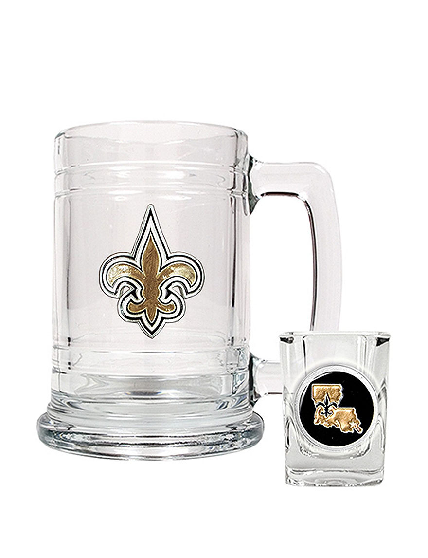 NFL Clear Beer Glasses Cocktail & Liquor Glasses Mugs Drinkware NFL