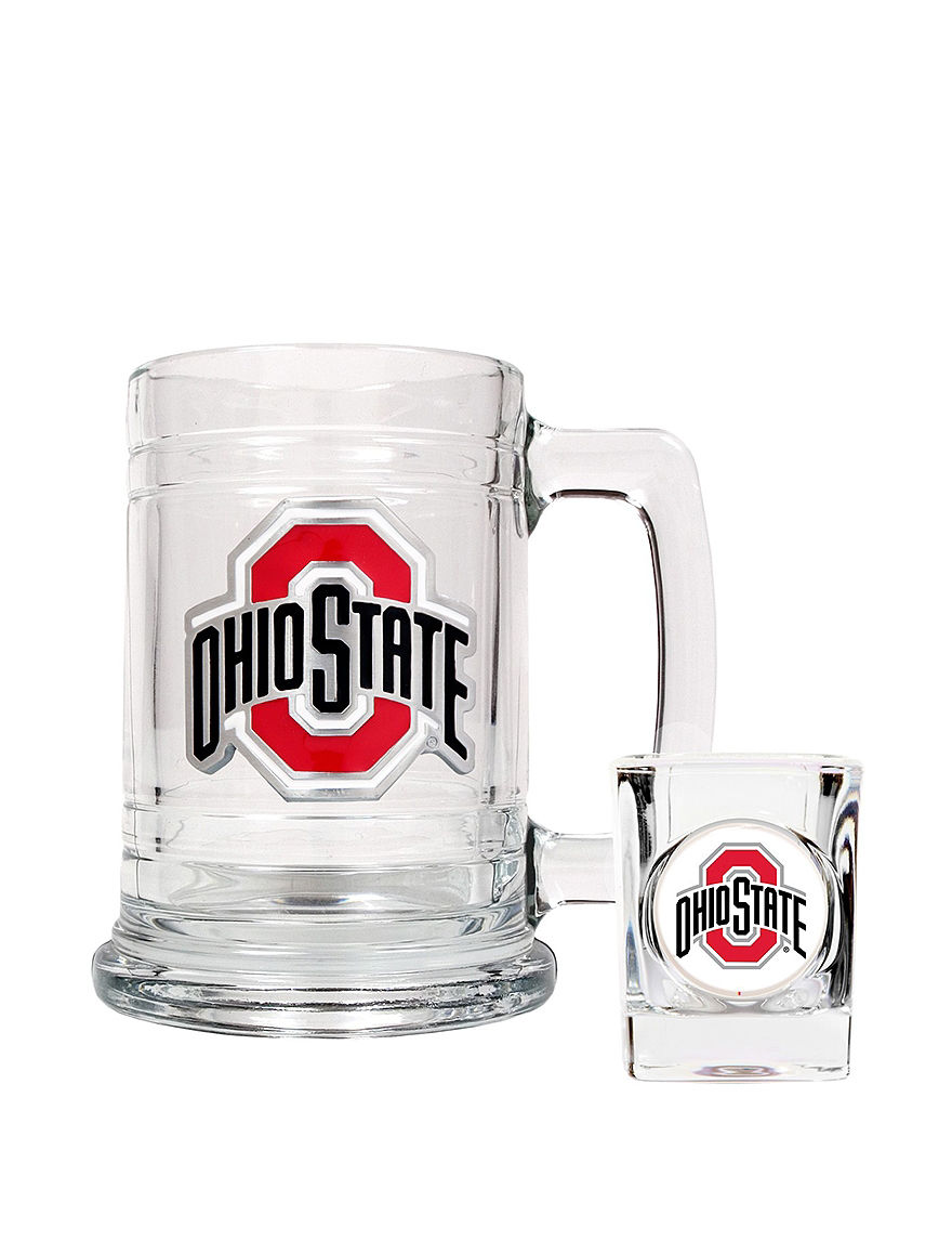 NCAA Clear Beer Glasses Cocktail & Liquor Glasses Drinkware Sets Mugs Bar Accessories Drinkware NCAA