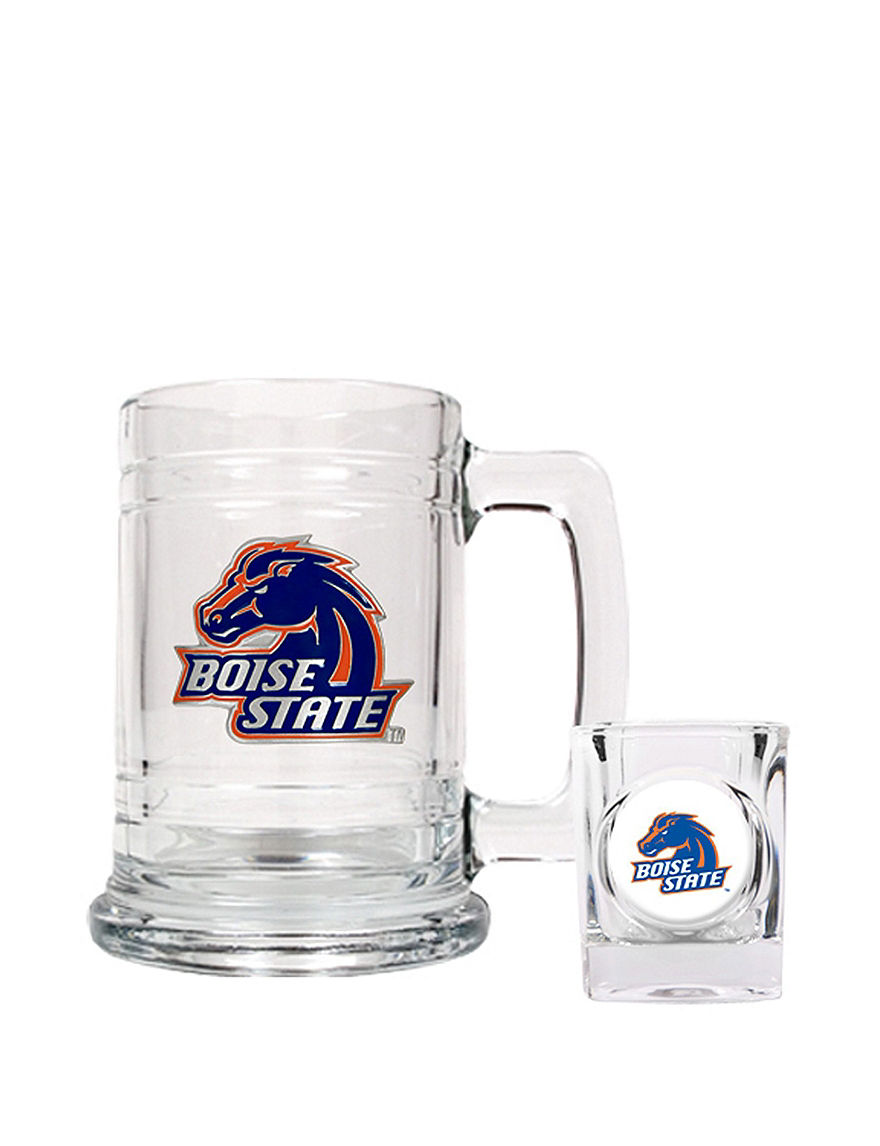 NCAA Clear Beer Glasses Cocktail & Liquor Glasses Drinkware Sets Drinkware