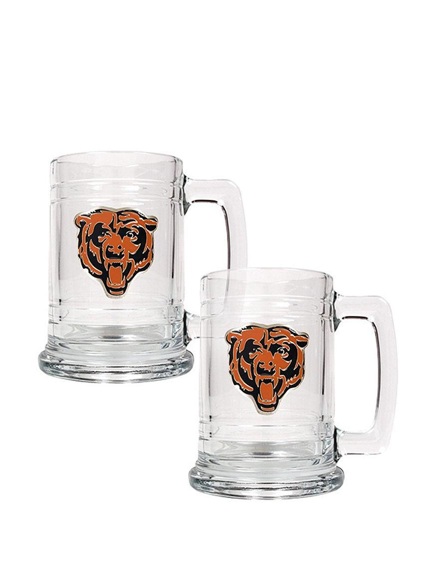 NFL Clear Beer Glasses Drinkware Sets Everyday Cups & Glasses Mugs Drinkware NFL