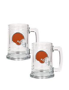 Cleveland Browns 2-pc. Glass Tankard Set