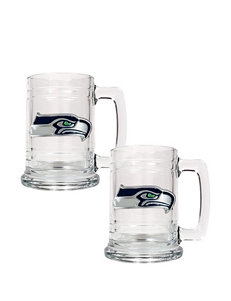 NFL Clear Beer Glasses