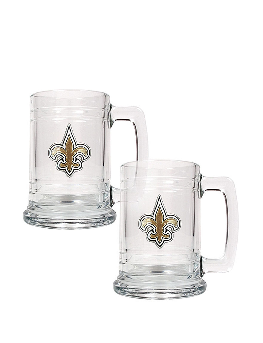 NFL Clear Beer Glasses Drinkware Sets Drinkware