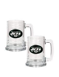 New York Jets 2-pc. Glass Tankard Set