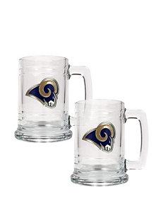 St. Louis Rams 2-pc. Glass Tankard Set