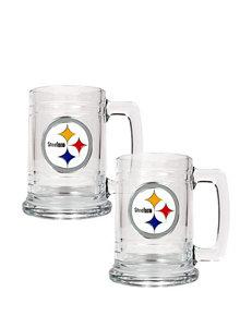 Pittsburgh Steelers 2-pc. Glass Tankard Set