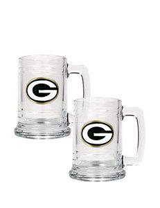 Green Bay Packers 2-pc. Glass Tankard Set