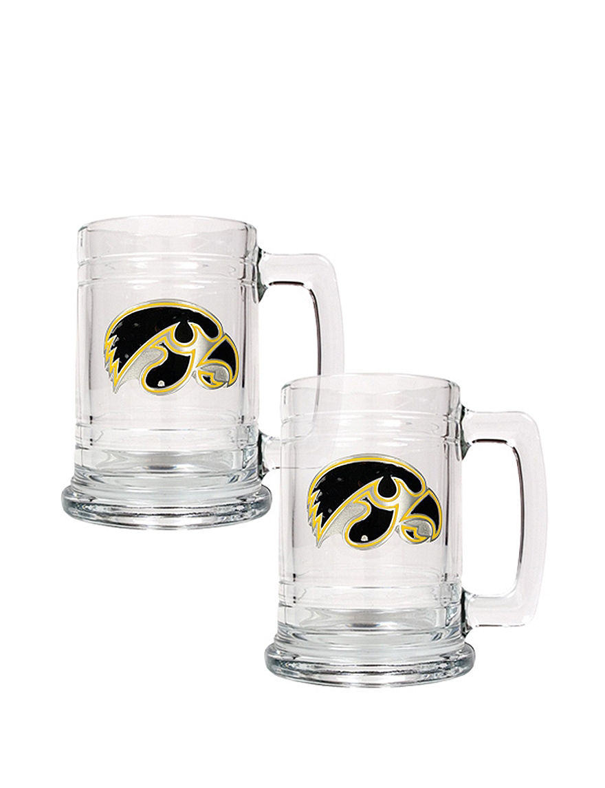 NCAA Clear Beer Glasses Everyday Cups & Glasses Mugs Drinkware