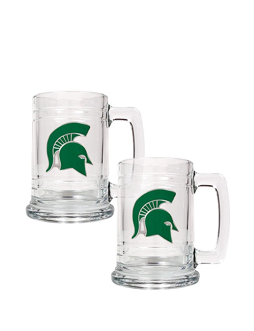 NCAA Clear Beer Glasses Drinkware Sets Mugs Bar Accessories Drinkware NCAA