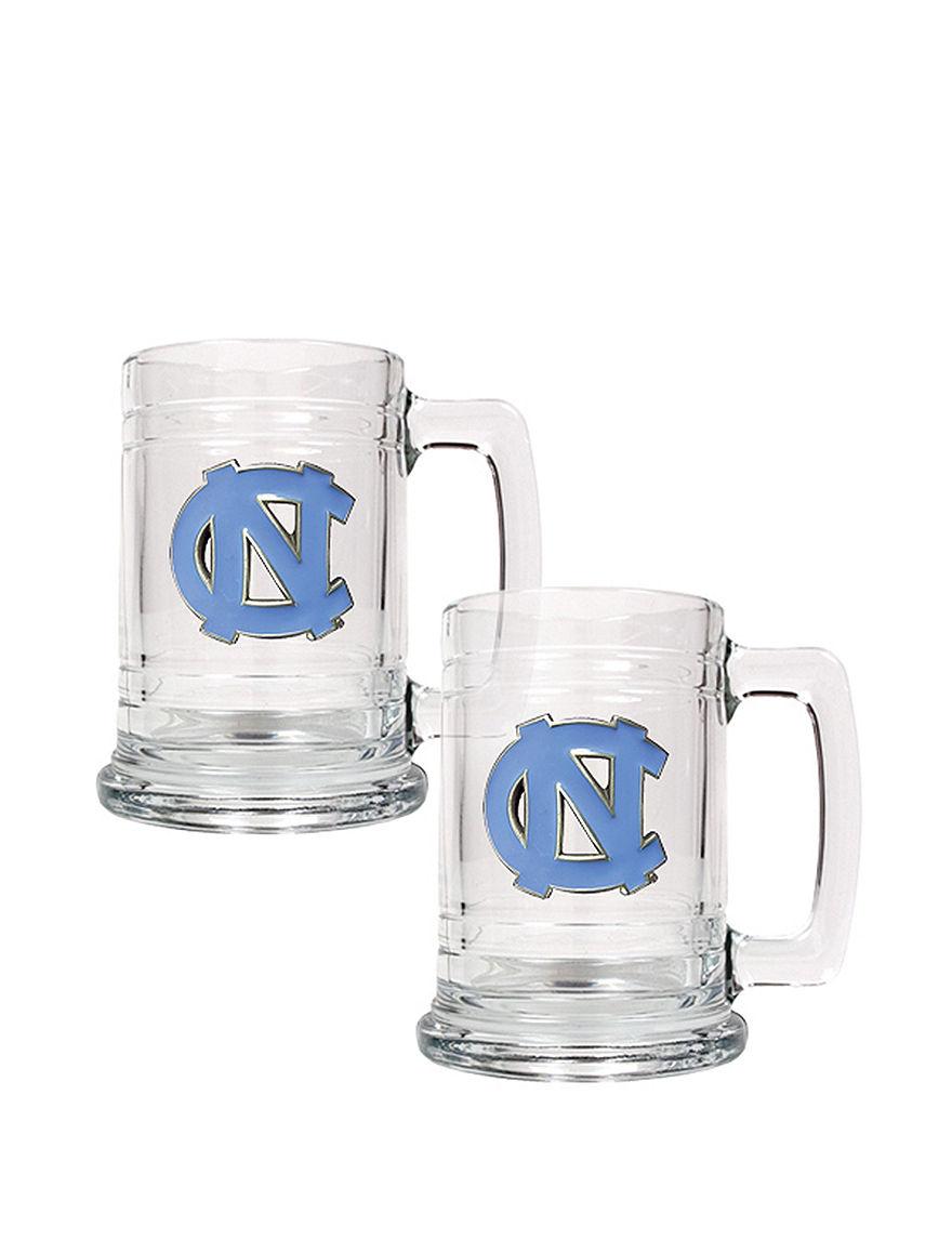 NCAA Clear Beer Glasses Drinkware Sets Everyday Cups & Glasses Mugs Bar Accessories Drinkware NCAA