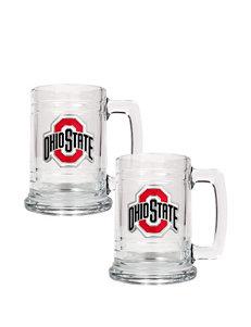 Ohio State Buckeyes® 2-pc. Glass Tankard Set