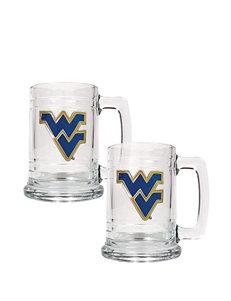 NCAA Clear Beer Glasses Drinkware Sets Mugs Drinkware NCAA