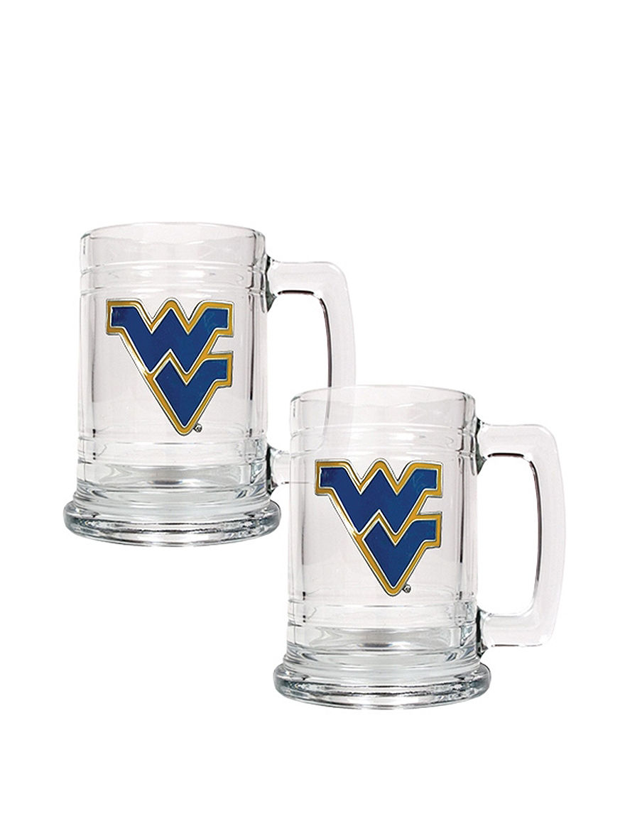 NCAA Clear Beer Glasses Drinkware Sets Mugs Drinkware NCAA